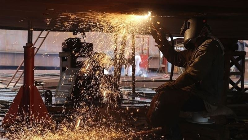 Turkey differed positively from Europe in industrial production