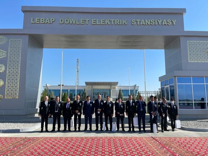 Renaissance completed the power plant it built in Turkmenistan early despite the pandemic