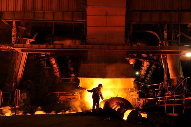 China steel production is at its lowest level in three years!
